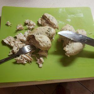 tejszínes csirkemell tésztával 1