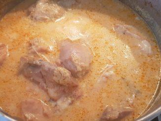 tejfölös paprikás csirke