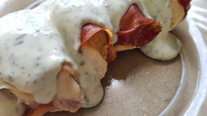 csirkemellfilé fűszeres krémsajttal