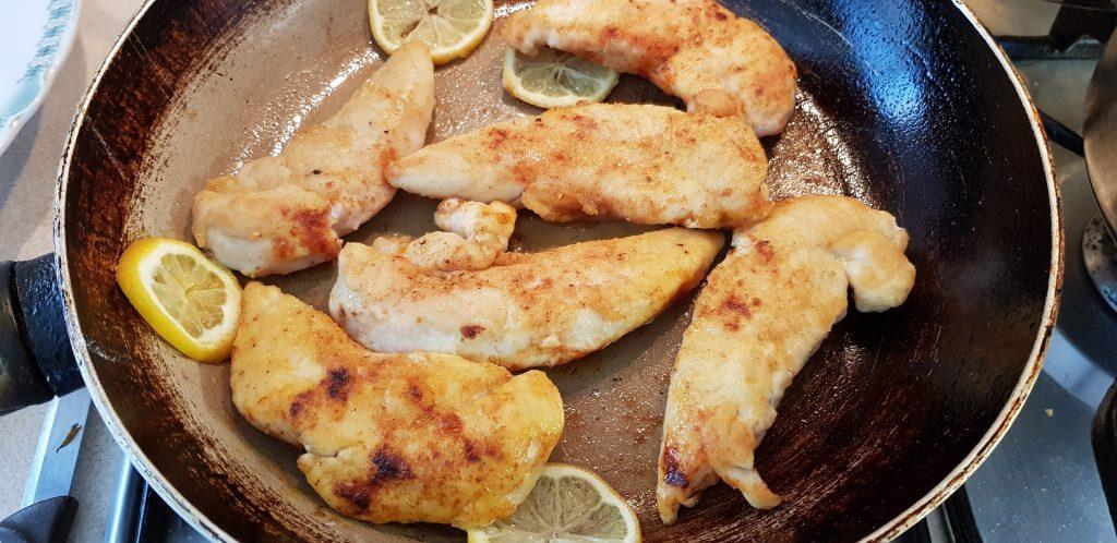 spárga citrom csirkemell