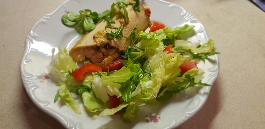 krémsajtos csirke tortilla 1