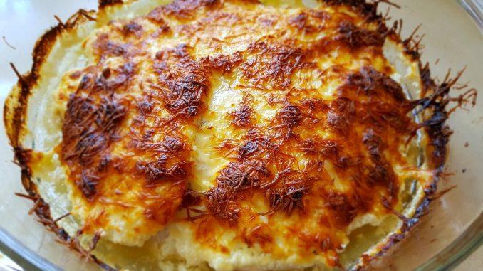 sajtos-tejszínes csirkemell