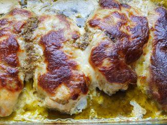 pestos csirkemell