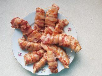 bacon-be tekert csirkemell sütőzacskóban